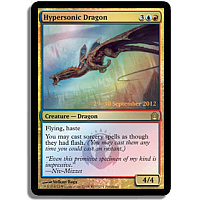 Hypersonic Dragon ( Foil ) (Return to Ravnica Prerelease)