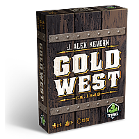 BOARD GAME JULKALENDER 2016 - DAG 21: GOLD WEST (Promo)