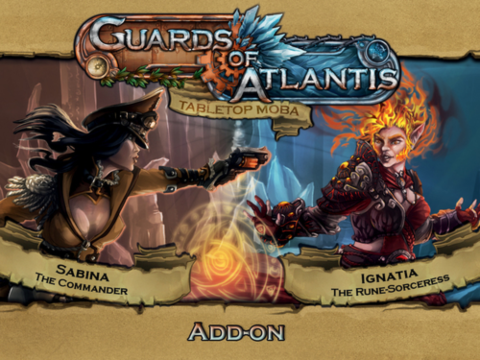 Guards Of Atlantis: Add-On Character Pack - Sabina & Ignatia_boxshot