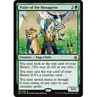 Vizier of the Menagerie ( Amonkhet Prerelease Foil )