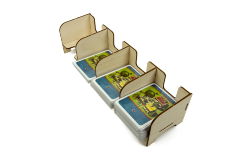 Card Holder: Standard 4 Tray_boxshot
