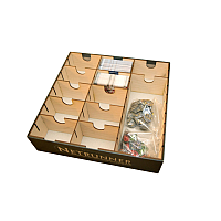 Unsleeved Card Game Box Organizer