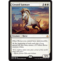 Crested Sunmare