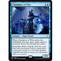 Champion of Wits (Prerelease)