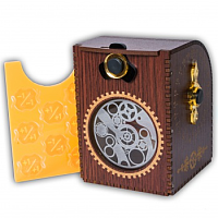 Blackfire Wooden Deck Case: Gears