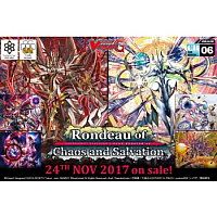 Cardfight!! Vanguard G -Rondeau of Chaos and Salvation - Clan Booster Display (12 Packs)