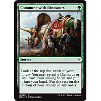 Commune with Dinosaurs