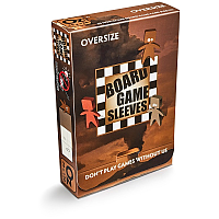 Board Game Sleeves - Non-Glare: OVERSIZE (79x120mm)