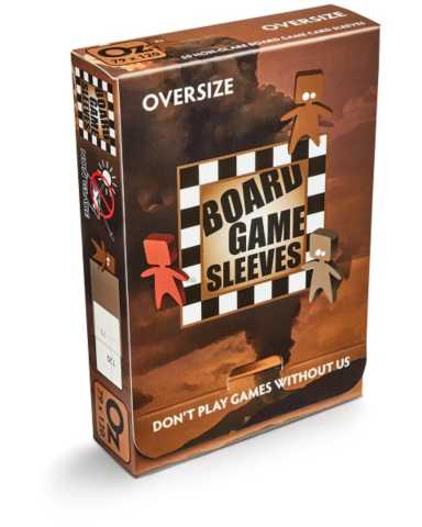 Board Game Sleeves - Non-Glare: OVERSIZE (79x120mm)_boxshot