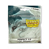 Dragon Shield Standard Perfect Fit Sideloading Sleeves - Clear (100 Sleevees)
