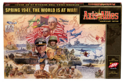 Axis & Allies: Spring 1941 Anniversary Edition_boxshot