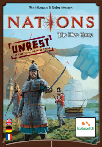 Nations: The Dice Game - Unrest_boxshot