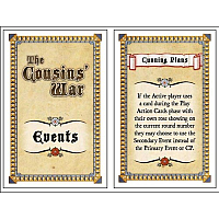 The Cousins' War: Events