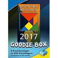The Deutscher Spielepreis 2017 Goodie Box