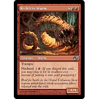 Reckless Wurm ( Foil )