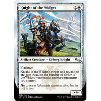 Knight of the Widget