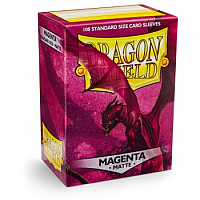 Dragon Shield - Matte Magenta (100)