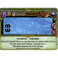 Mage Wars: Wall Of Force Promo Card