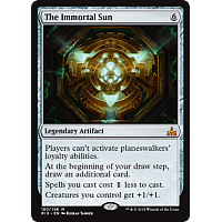 The Immortal Sun ( Foil ) ( Rivals of Ixalan Prerelease )