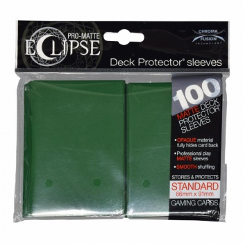 PRO-Matte Eclipse - Forest Green (100 Sleeves)_boxshot