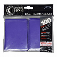 PRO-Matte Eclipse - Royal Purple (100 Sleeves)