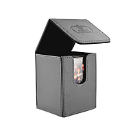 Ultimate Guard Flip Deck Case 100+ Standard Size XenoSkin Grey