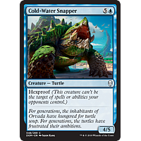 Cold-Water Snapper