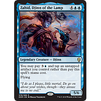 Zahid, Djinn of the Lamp ( Foil ) (Dominaria Prerelease)