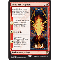 The First Eruption ( Foil )