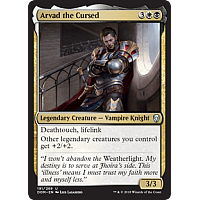 Arvad the Cursed ( Foil ) (Dominaria Prerelease)