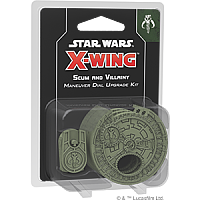 Star Wars: X-Wing Second Edition - Scum And Villainy Maneuver Dials