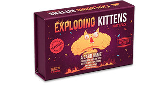 Exploding Kittens Party Pack Game (Nordisk Utgåva)_boxshot