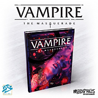 Vampire: The Masquerade 5th Edition Core Rulebook Hardback