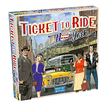 Ticket to Ride: New York (Engelska)