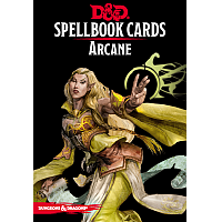 Dungeons & Dragons – Spellbook Cards: Arcane (253 cards)