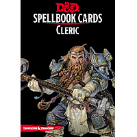 Dungeons & Dragons – Spellbook Cards: Cleric (149 cards)
