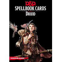 Dungeons & Dragons – Spellbook Cards: Druid (131 cards)