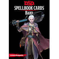 Dungeons & Dragons – Spellbook Cards: Bard (128 cards)