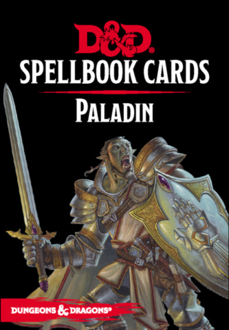 Dungeons & Dragons – Spellbook Cards: Paladin (69 cards)_boxshot