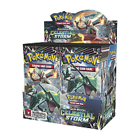 Sun & Moon: Celestial Storm Booster Display