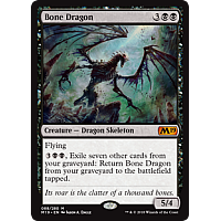 Bone Dragon ( Foil ) (Core Set 2019 Prerelease)