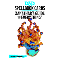 Dungeons & Dragons – Spellbook Cards: Xanathar's Guide To Everything (95 cards)