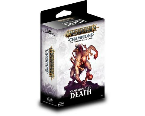 Warhammer Age of Sigmar: Champions TCG - Death Campaign Deck _boxshot
