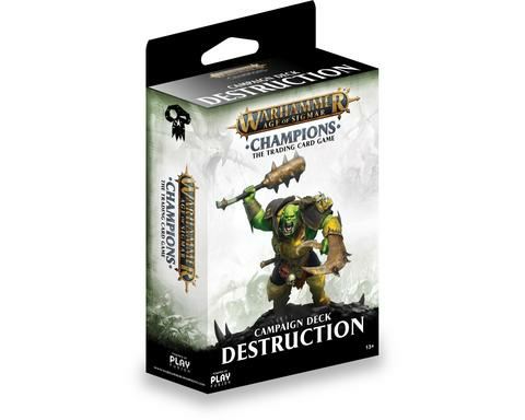 Warhammer Age of Sigmar: Champions TCG - Destruction Campaign Deck _boxshot