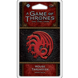 A Game of Thrones: The Card Game House Targaryen Intro Deck_boxshot
