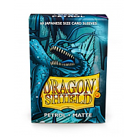 Dragon Shield Small Sleeves - Japanese Matte Petrol (60 Sleeves)