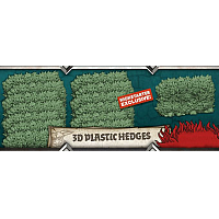 Zombicide Green Horde 3D Plastic Hedges (only Hedges...)
