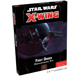 Star Wars: X-Wing Second Edition - First Order Conversion Kit_boxshot