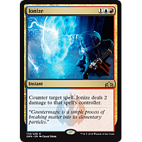 Ionize ( Foil ) ( Guilds of Ravnica Prerelease )