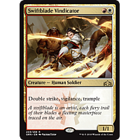 Swiftblade Vindicator ( Foil ) ( Guilds of Ravnica Prerelease )